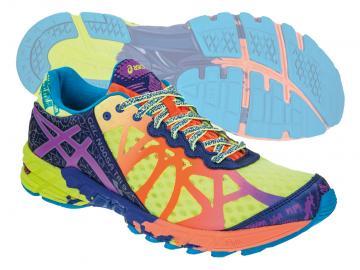 Asics Gel-Noosa Tri 9 férfi futócipő (neonsárga-lila-kék) 017c51d1c3